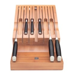 Kitchen Knife Storage Appliances Packages Bamboo In Drawer Penna Co