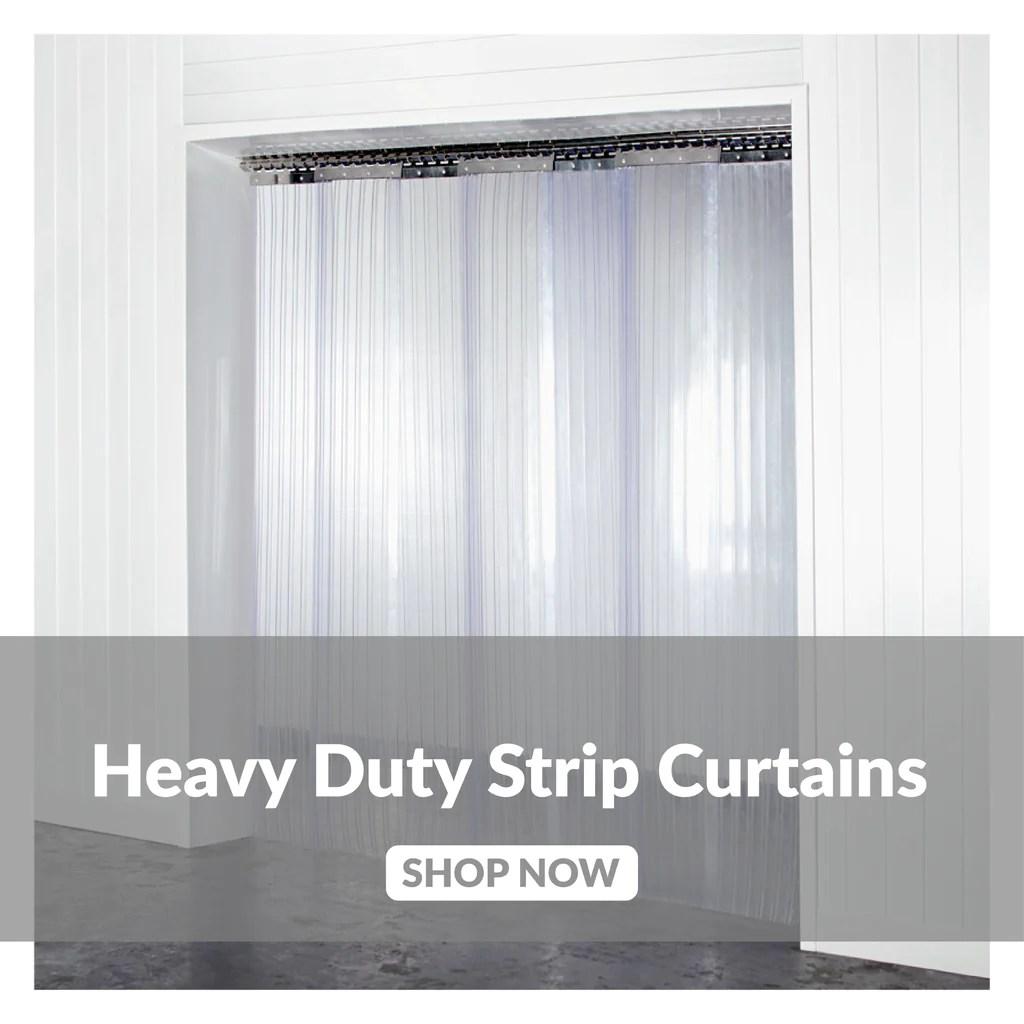 heavy duty pvc door curtains strip
