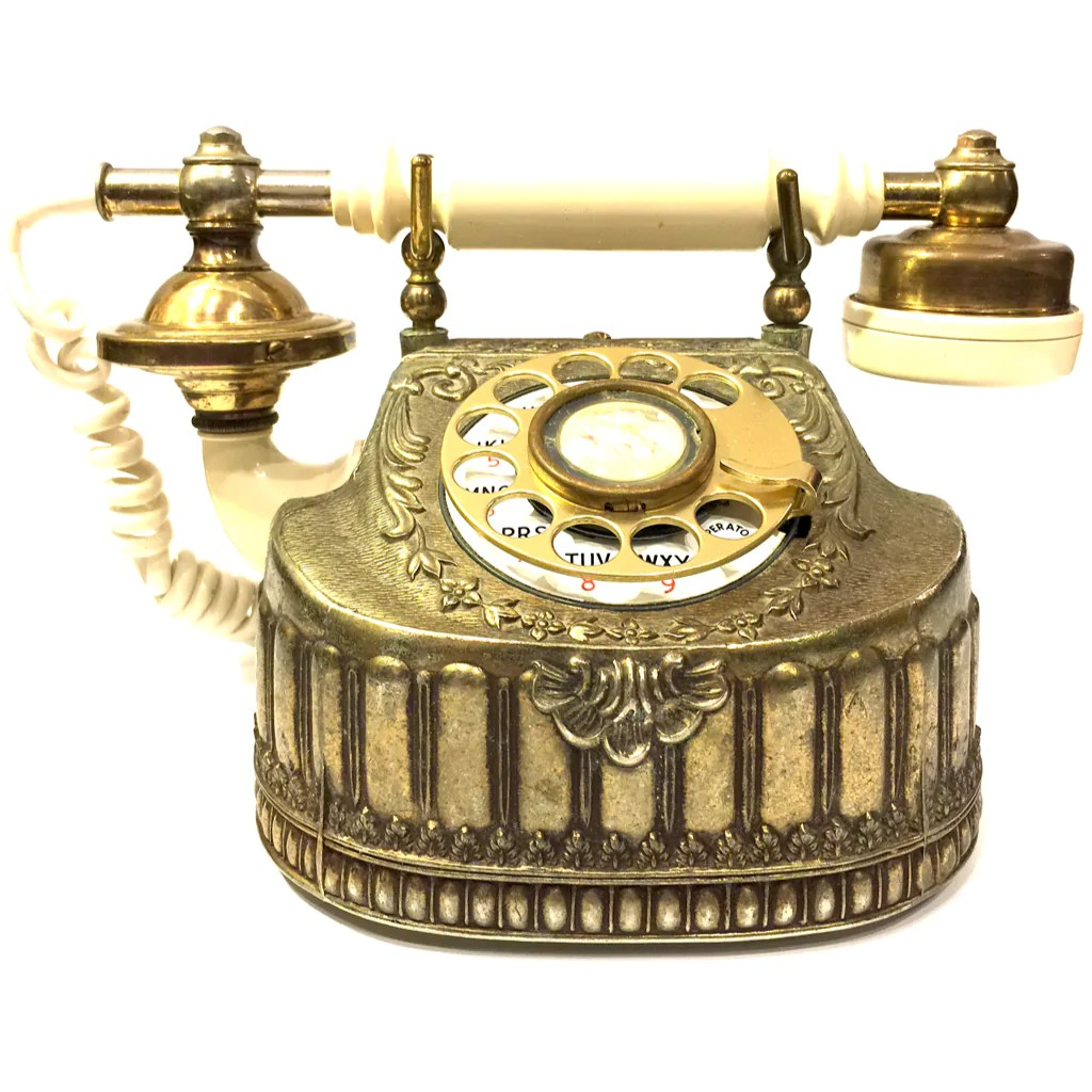 small resolution of vintage baroque bronze rotary telephone vintage baroque bronze rotary telephone