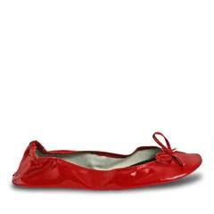 Women's Bendable Ballet Flats - Red