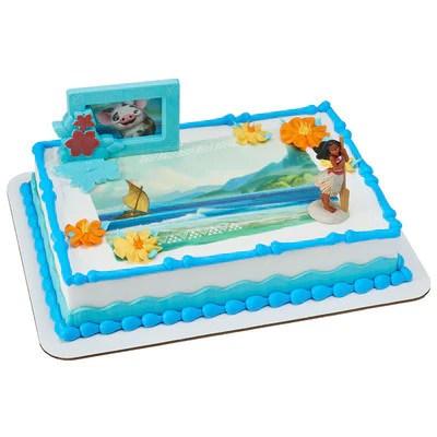 Moana Edible Image Cake And Cupcake Toppers Sugarprintcess