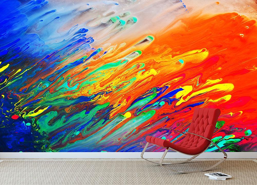 Zendha Abstract Art Wallpaper