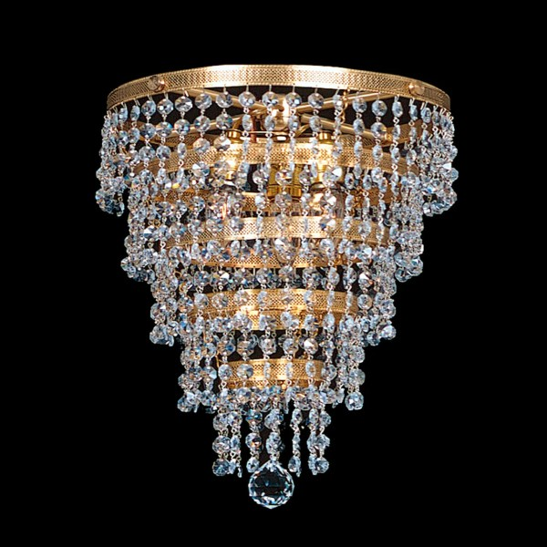 crystal chandelier tiered # 18