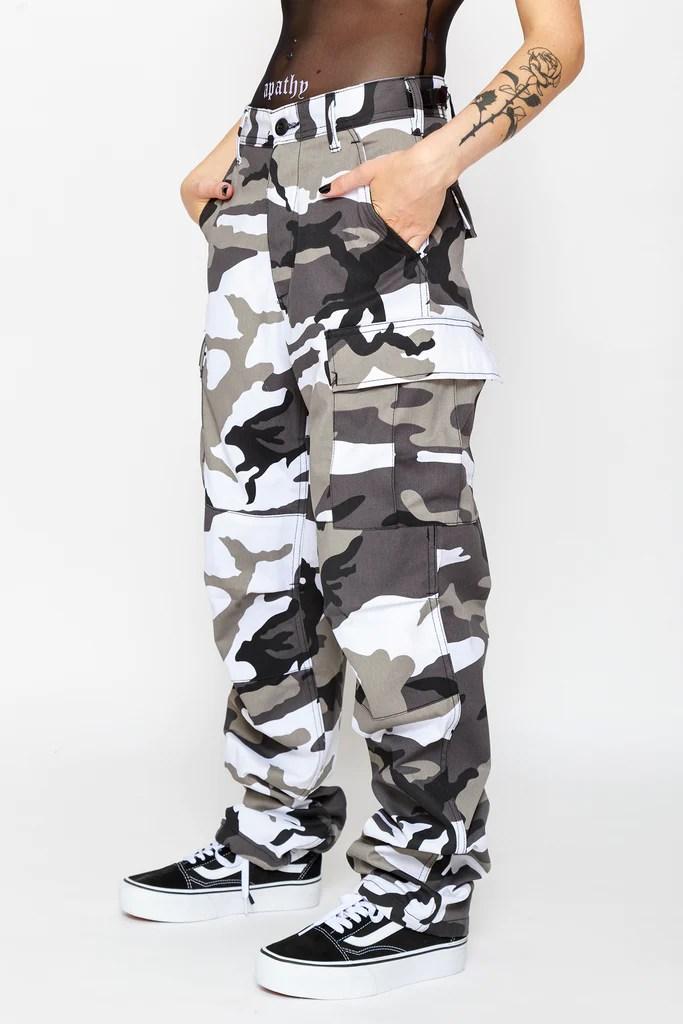 city camo cargo pants