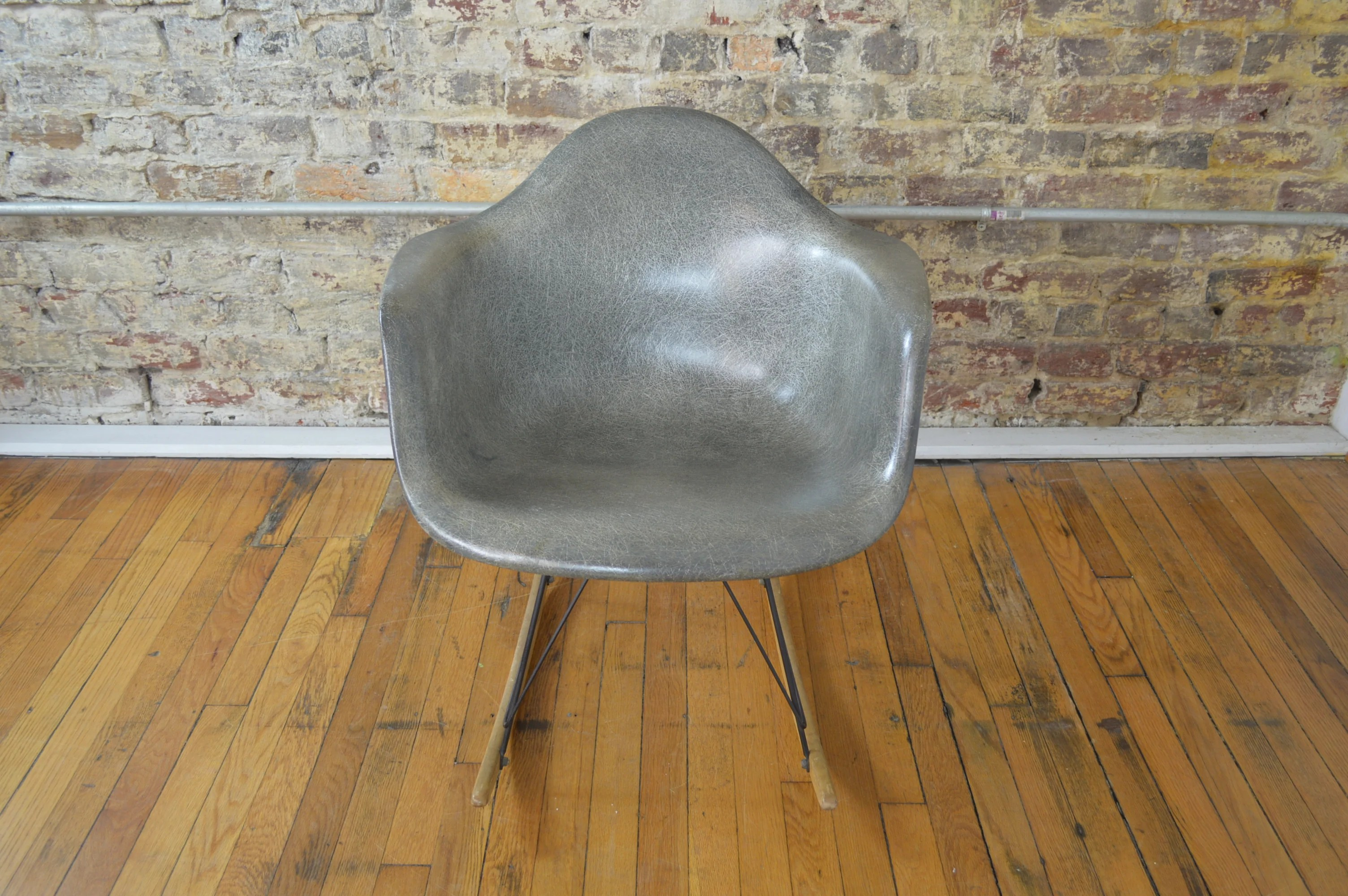 Herman Miller Shell Chair Charles Ray Eames For Herman Miller Mid Century Modern Rocking Chair