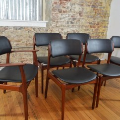 Erik Buck Chairs Chair And A Half Glider Canada Rosewood Dining By Buch For Odense Maskinsnedkeri