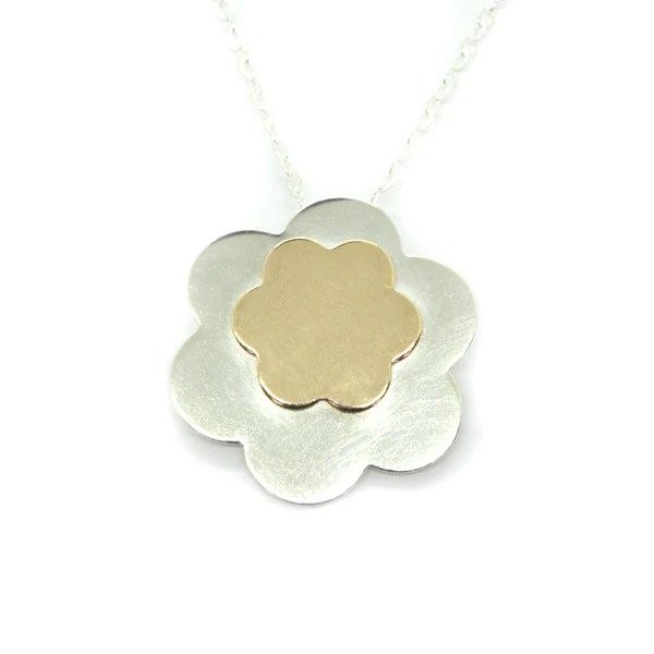 posy silver and gold