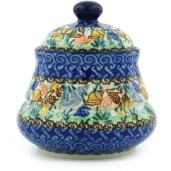 Kitchen Pottery Canisters Rugs Washable Unikat Canister Pacific Polish