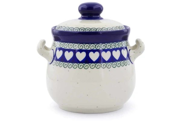 kitchen pottery canisters mat canister pacific polish