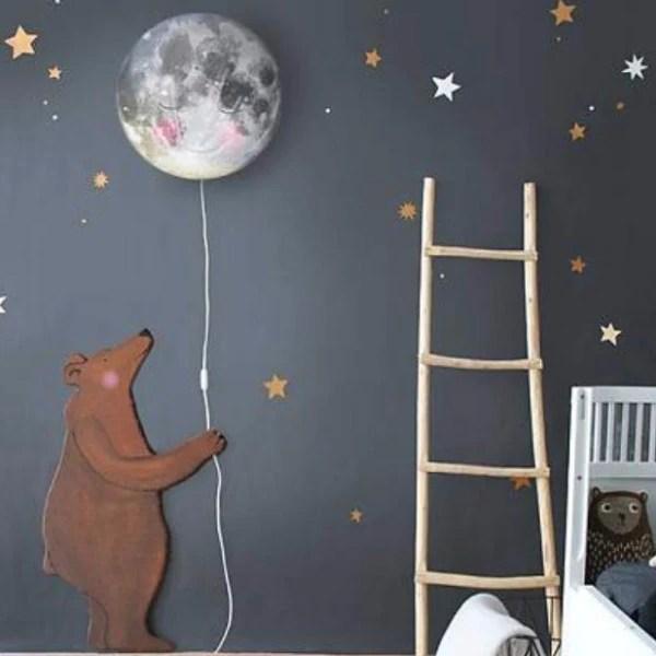 Bear Wall Sticker  Mini Maison Nursery  Kids Decor