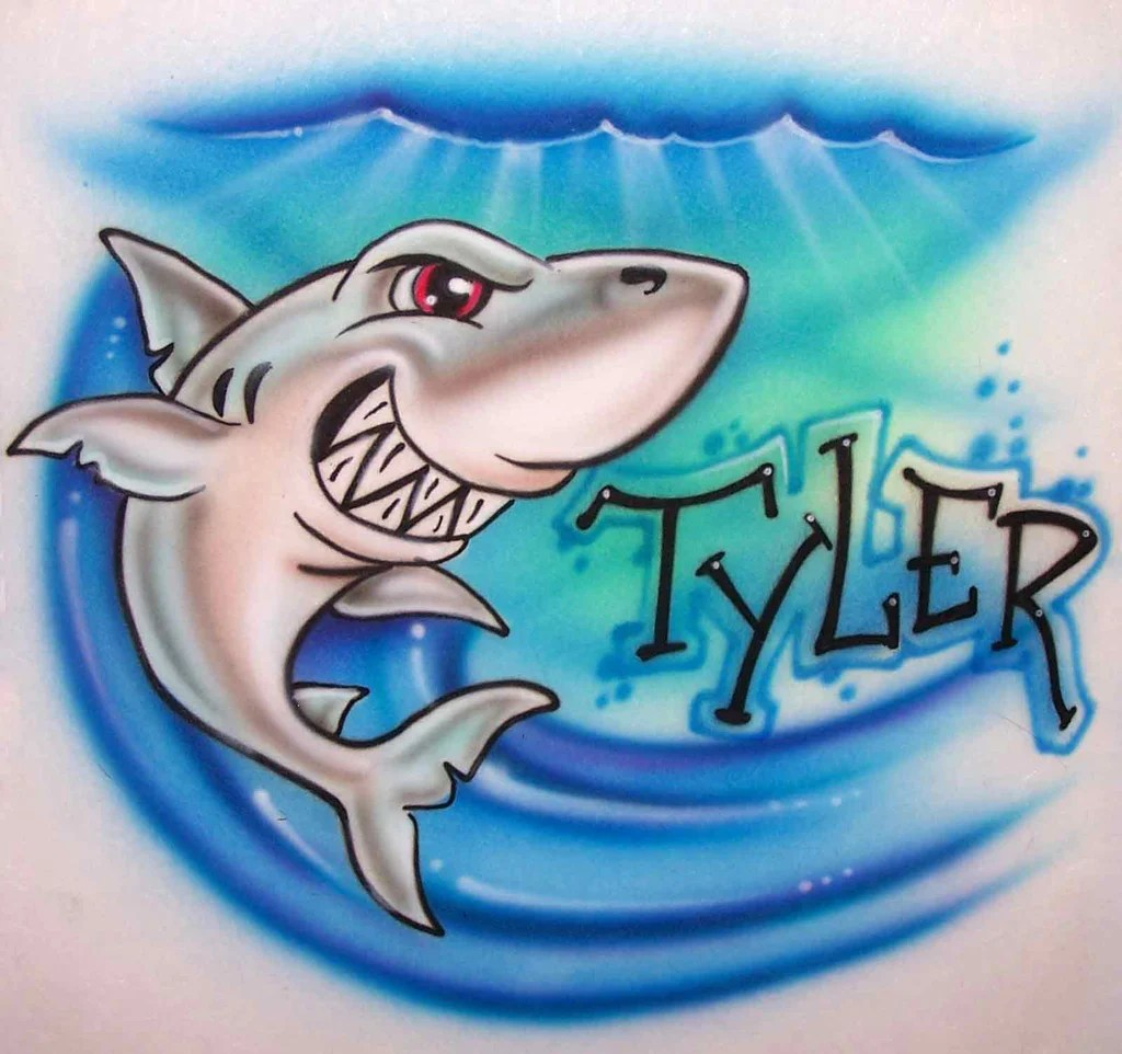 Name Airbrush Shirts Designs