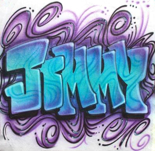 Cute Cartoon Faces Wallpaper Freestyle Graffiti Name Design With Crazy Swirled Background