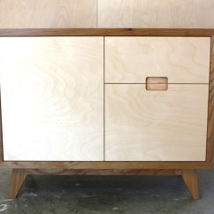 Compact Kitchens Nz Kitchen Canister Make Furniture - Elm And Birch Plywood Sideboard
