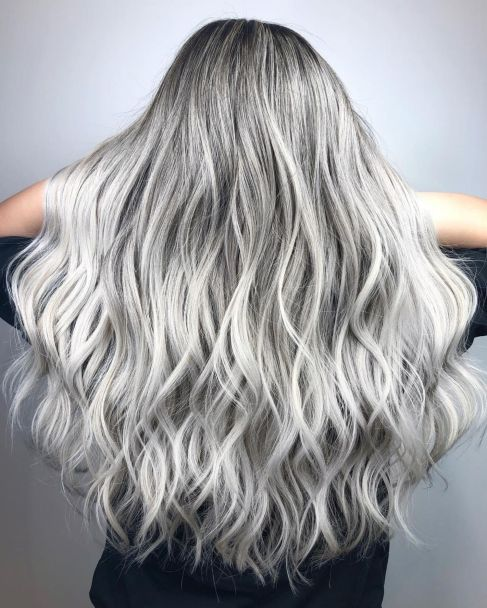 the grey hair trend
