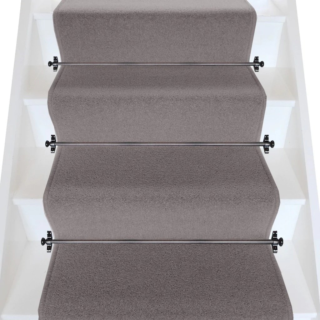 Brintons Carpets Bell Twist Pewter Plain Stair Runner Per M Stonegate Carpets