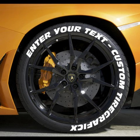 TIREGRAFICX  CUSTOM TIRE LETTERING AND TIRE STICKERS