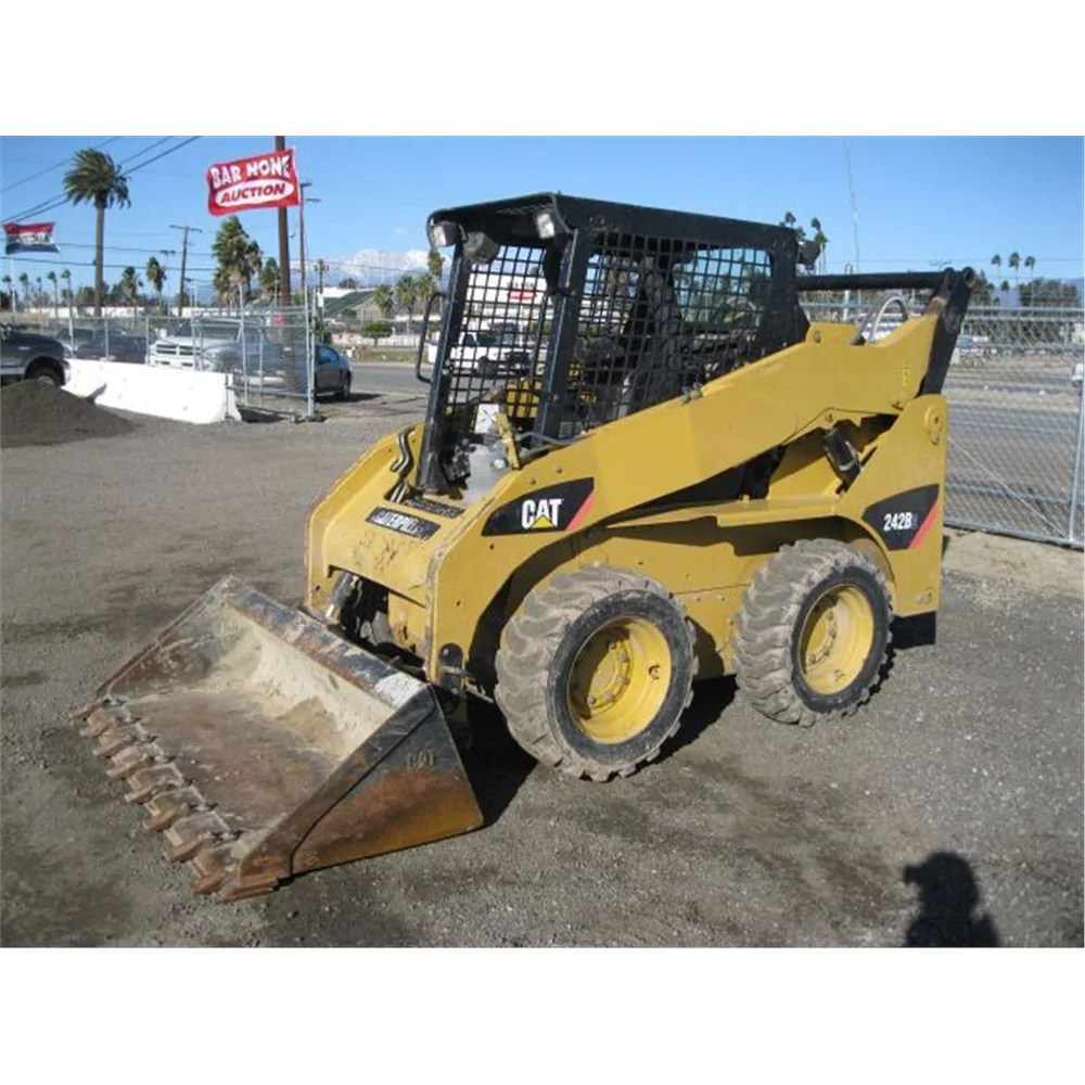 hight resolution of caterpillar 226b and 242b skid steer loaders hydraulic system interact the best manuals online