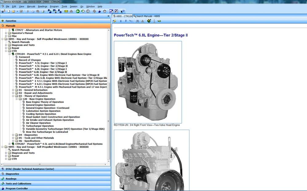 John Deere La165 Wiring Diagram John Deere Repair Manual John Deere Service Manual Online