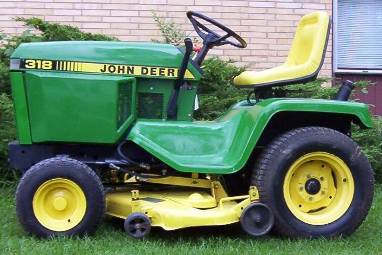John Deere 300 Series 316 318 And 420 Lawn And Garden