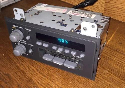 Gm 7 Plug Wiring Diagram 94 95 96 97 Chevrolet S10 Blazer Gmc Jimmy Radio Cassette