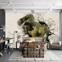 3d Hulk Superhero Wallpaper for Walls Wall Mural ...