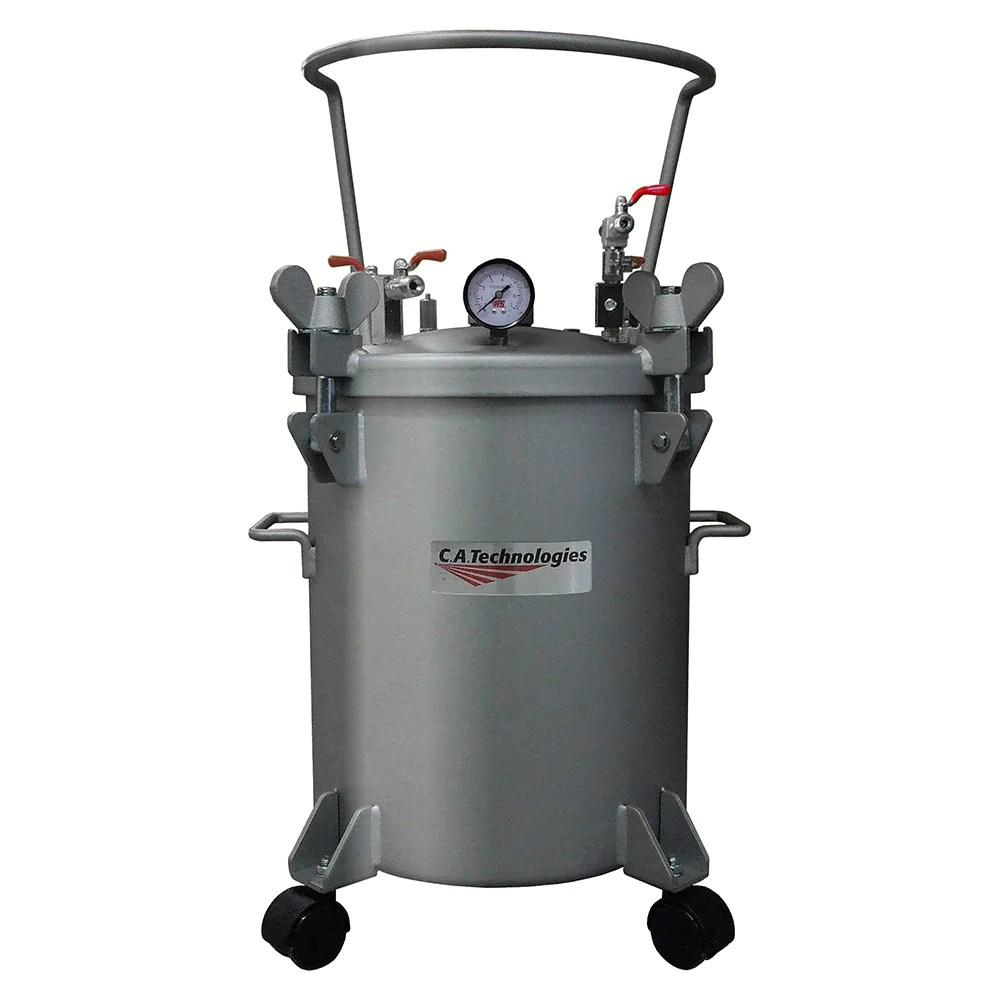Technologies 5 Gallon Stainless Steel Paint Pressure