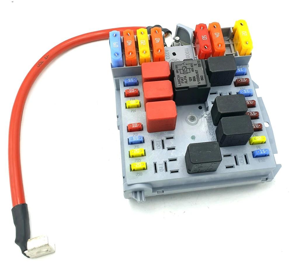 alfa romeo spider fuse box [ 1024 x 933 Pixel ]