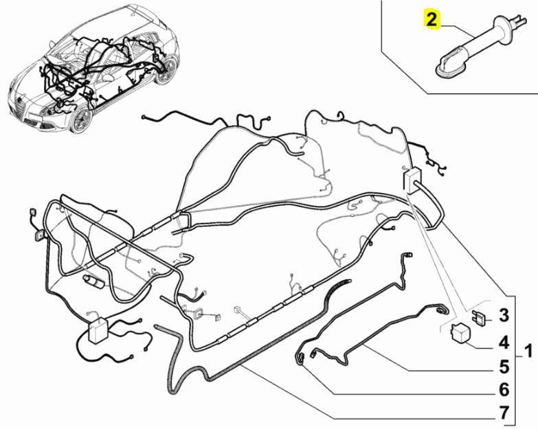 alfa romeo giulietta tailgate wiring diagram