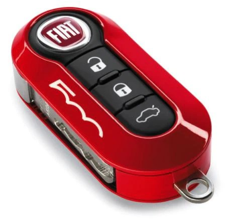 key cover coral red