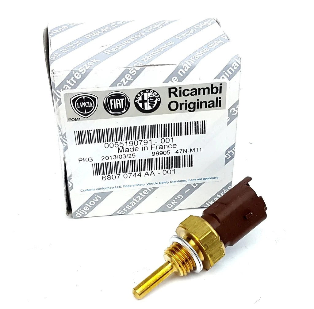 small resolution of coolant temperature sensor fiat abarth alfa romeo 55190791 partsworld uk
