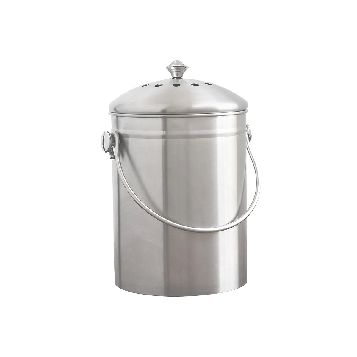 kitchen compost container remodeling lancaster pa stainless steel bin natural home brands