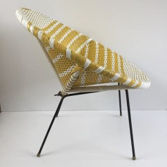 Old Wicker Chairs Uk Ikea Accent Chair Yellow And White Vintage Satellite Woven