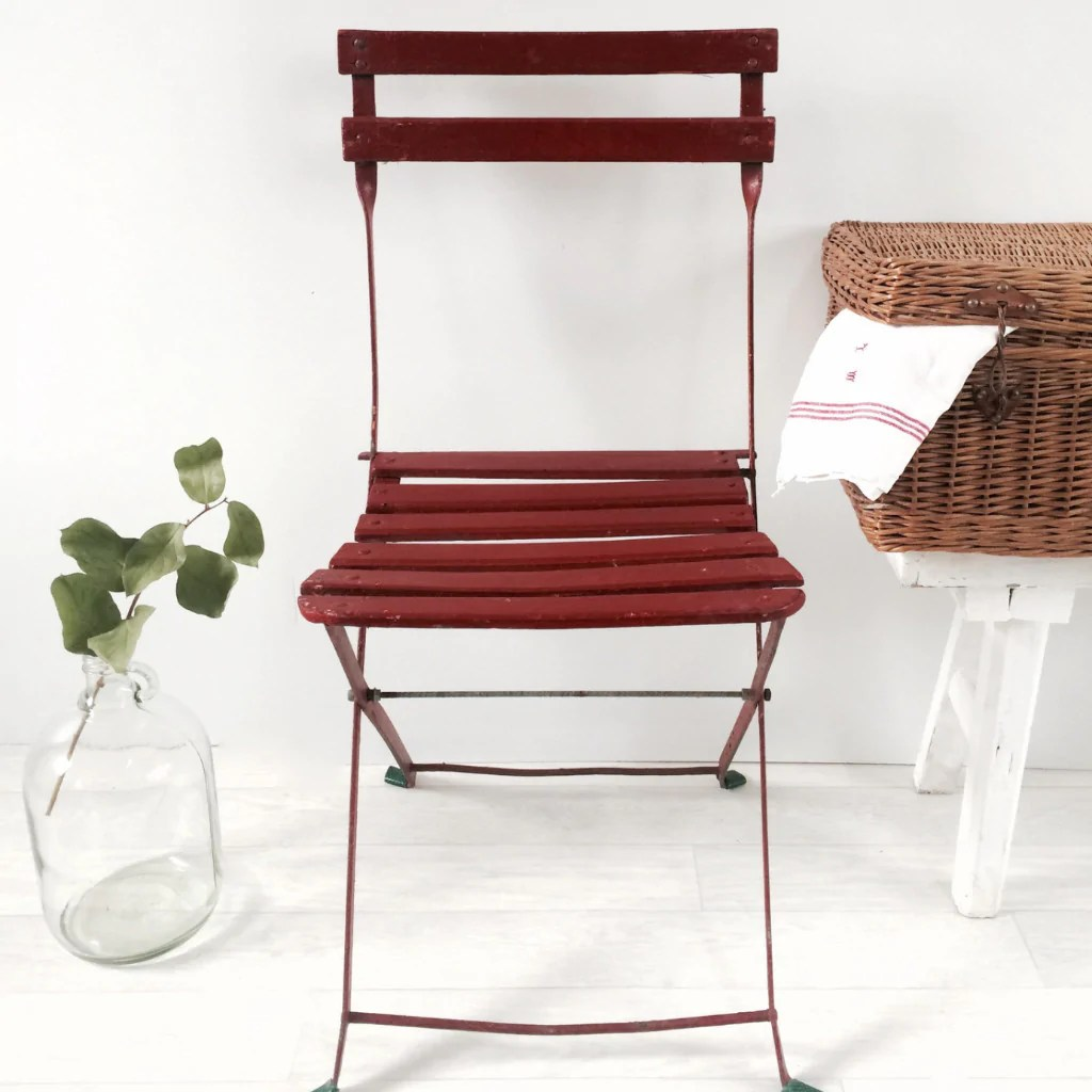 french brasserie chairs caning supplies shabby chic vintage foldable garden paris
