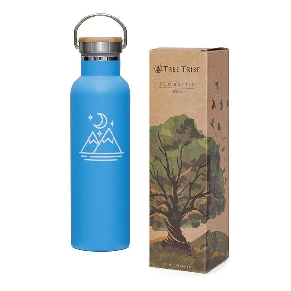 Tree Tribe - 12% OFF Blue Moon and Mountains Water Bottle (20 oz) (WAS:$32.00   NOW:$28.00)