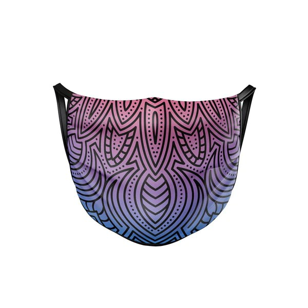 Tree Tribe - 16% OFF Fluorescent Mandala Face Mask (WAS:$18.00   NOW:$15.00)