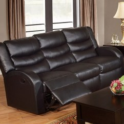 Rialto Black Bonded Leather Chair Office Jtf Motion Sofa Pd6652  Sleep Collection