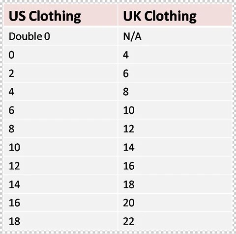 Shoe size chart please note that shoes are advertised in us sizes but made eu also frequently asked questions  sizing information designer inspired rh designerinspiredclothes