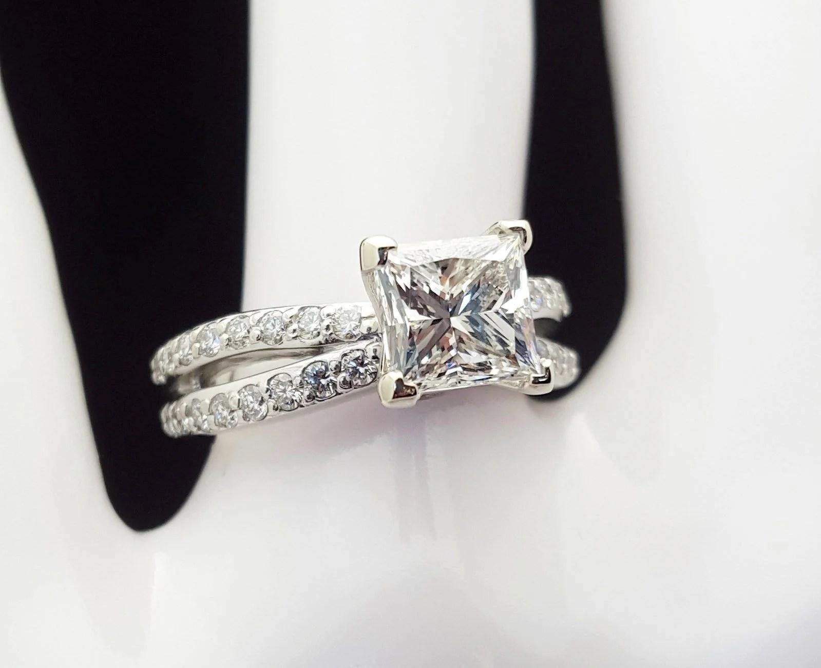 2 Carat Princess Cut Diamond