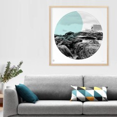 Wall Prints For Living Room Australia Decorative Pillows Margaret River Circle Print Burbia