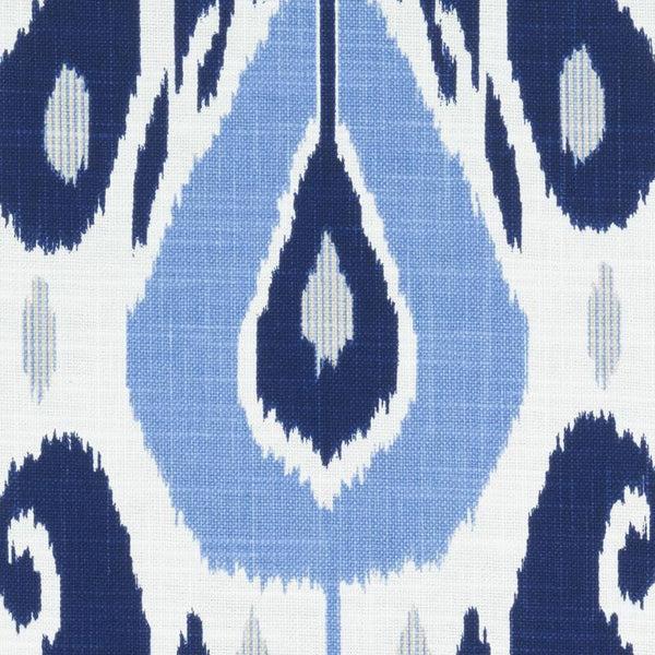 Duralee John Robshaw Fabric  Fazil Blue  Zarin Fabrics