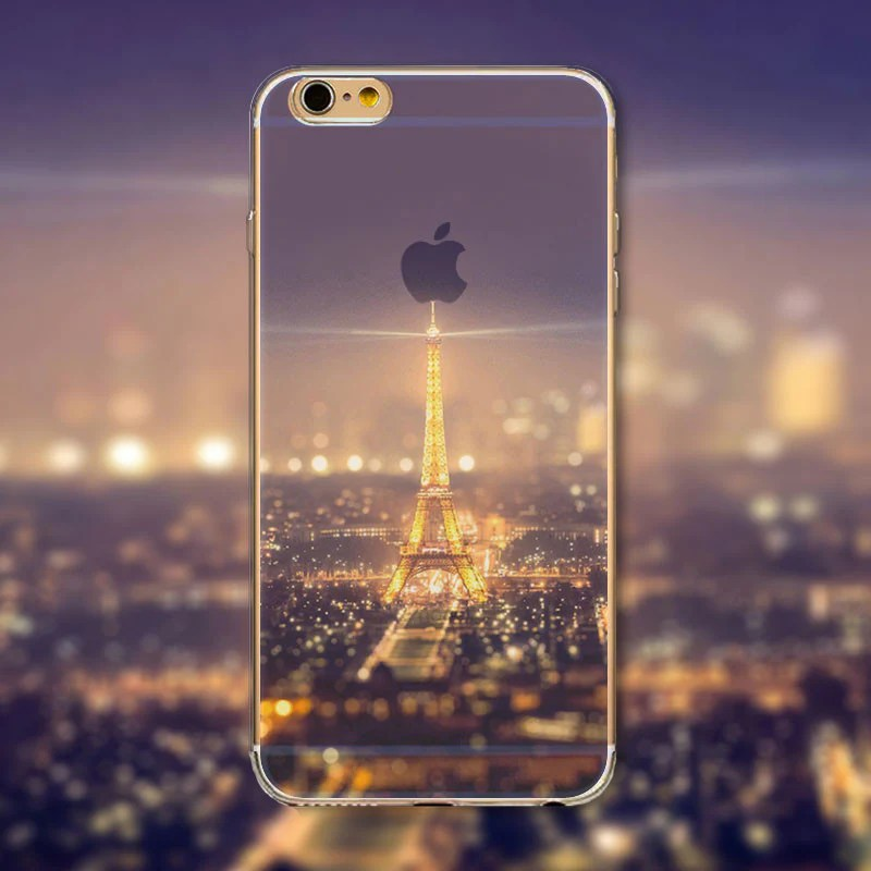 Beautiful Eiffel Tower Iphone Case Transparent Soft