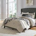 Vintasso King Upholstered Button Tufted Headboard Footboard Roll Sla Regency Furniture