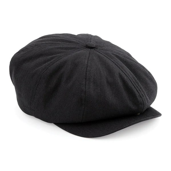 dd8bacd2 Black Newsboy Hat With Flower | Gardening: Flower and Vegetables