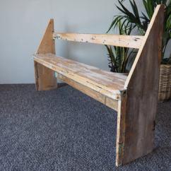 Pine Kitchen Bench Direct Rustic Shabby Chic Hallway Seat Erfmann Vintage