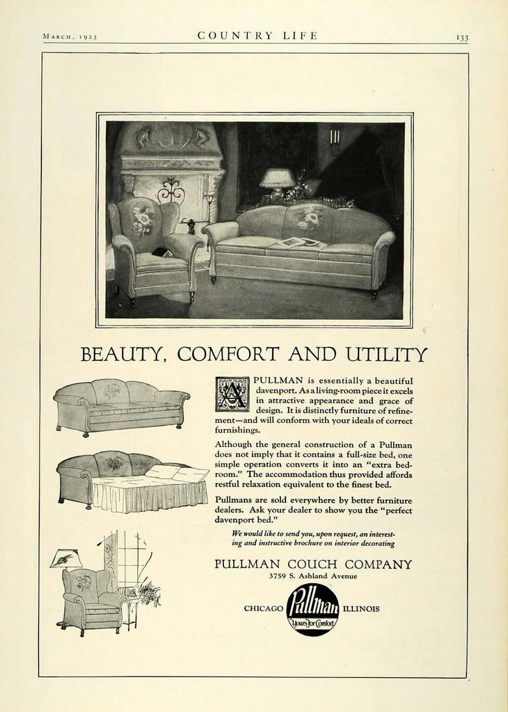 Kroehler Antique Furniture