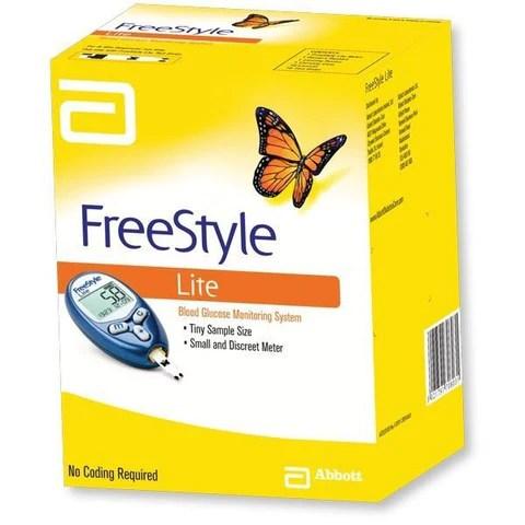 FreeStyle Lite Glucose Meter & Lancing Device   Blood ...