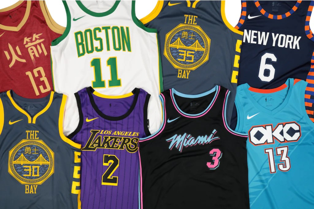 "e0980fef0 NBA  Ranking the  18-19 ""City Edition"" Jerseys"