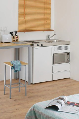compact kitchens nz kitchen grills installing a second mini in your home elfin smart choice