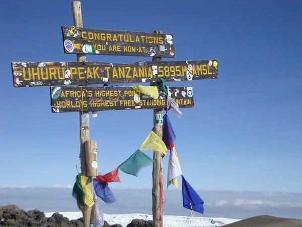 Kilimanjaro Summit