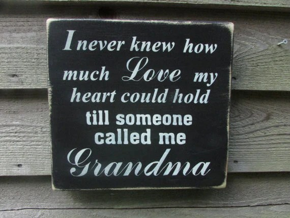Country Home Decor Wood Signs Family Sign Grandmother